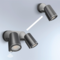 Steinel  Led-wandspot DUO Sensor Antraciet  058647