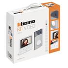 Bticino Videokit met 1 drukknop Linea 3000 - 364612