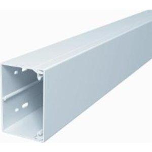 Kabelgoot, installatiekanaal 60 x 60mm, Wit RAL 9010