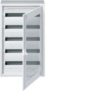 Hager Vega D Opbouw 5 rijen 120 mod 900x550 Doorzichtige deur FD52CN