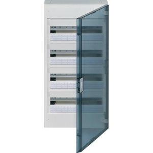 Hager  Vega verdeelkast 4R 72M doorzichtige deur - VB418R