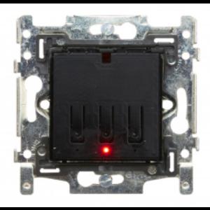 QBUS Schakelaar 1- of 2-toets Niko RGB zonder afwerkingsset. - SWC0102/NNB