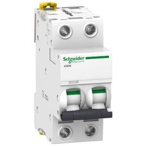 Schneider Automaat iC60N 2P 25A D - A9F75225