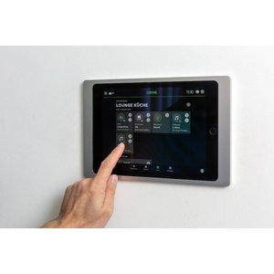 Loxone iPad houder Wallmount (iPad 10,2) Zilver 100430