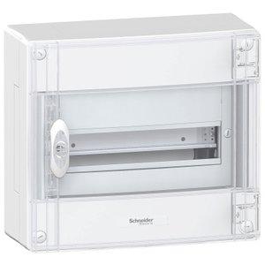 Schneider  Boxplus kast 13 mod 1R doorzichtige deur opbouw - BOXPLUS13111