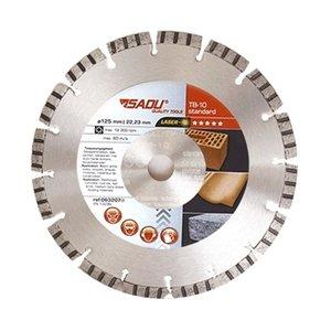 Sadu Diamantschijf Standaard 125x22,23x10mm TB-10