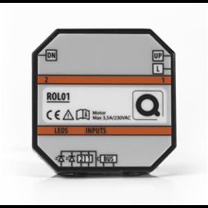 QBUS Stuurmodule voor Rolluik motor  2x8A - ROL01