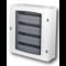 Ide Verdeelkast 96 mod. 4 rijen Transparante deur IP40
