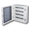 Ide Verdeelkast 120 mod. 5 rijen Transparante deur IP40