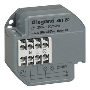 Legrand Teleruptor 10 AX - 230VAC - 50/60Hz - 049120