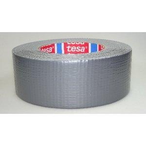 tesa Kleefband, Duct Tapezilvergrijs 48x50m - 4662