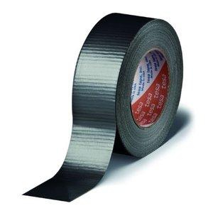 tesa Kleefband, Duct Tape zwart 48x50m - 4662