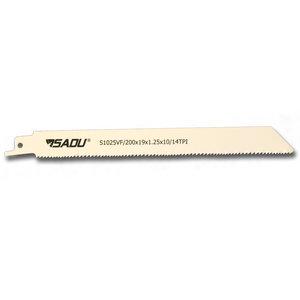 Sadu Reciprozaag S1025VF, per 5, (Bosch ref S 1025 VF), zaagblad 200mm, per 5, voor metaal
