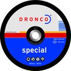 Dronco Snijschijf 125x3mm, metaal, 10 stuks