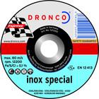 Dronco Snijschijf 230x1,9mm, metaal en inox