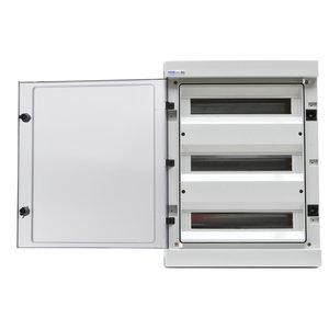 Deur verdeelkast  IP65 - 54 Mod  3x18 DEUR-RH543S