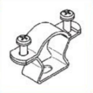 Muller Fix  Buis en Kabel Klem Ø 14-18 mm - per 10 stuks
