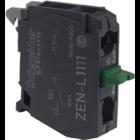 Schneider Contactblok met terugvering - 1NO - ZENL1111