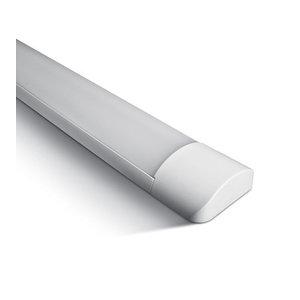 Schrack Led armatuur  4300lm 48W Koud W - 1200x120x30