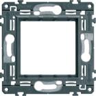 Hager WXA450 montagekader, donkergrijs
