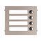 Aiphone Frontpaneel 4 beldrukknoppen - GF4P