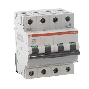 ABB Vynckier EP60 automatische schakelaar 6kA 4P D 20A