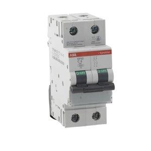 ABB Vynckier Automaat 2P - 6A - 3kA - curve C, EP32C06