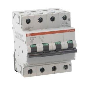 ABB Vynckier Automaat 3P+N - 16A - 3kA - curve C, EP33NC16