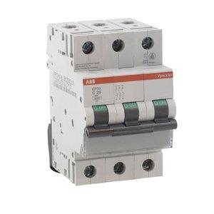 ABB Vynckier Automatische schakelaar 3kA 3P C 2A - EP33C02