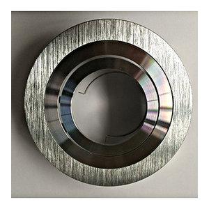 Inbouwspot Punto-A/AL  GU10 - 50W IP20 bladveren aluminium - LID14495