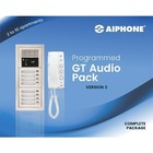 Aiphone Parlofoon voor 6 app. voorgeprogrammeerd
