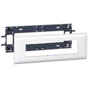 Legrand DLP (85mm) houder en afdekplaat wit, 8 modules