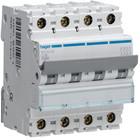 Hager Automaat 6kA - C - 4P - 16A - 4M. - MCA416