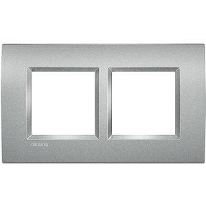 Bticino Afdekplaat 2 x 2 modules LivingLight Tech ♥ 57 - LNA4832M2TE