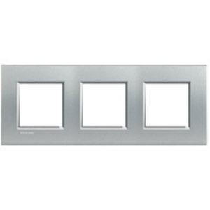 Bticino Afdekplaat 3 x 2 mod LivingLight horizontaalTech ♥71- LNA4802M3TE