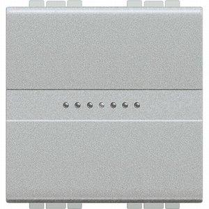 Bticino Drukknop axiaal NO 10A 2 mod - tech LL - NT4055M2AN