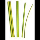 3M Warmtekrimpkous Ø 9/3 - 1m geel/groen