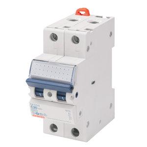 Gewiss Automaat - MT45 - 2P - curve C - 16A - 4,5kA - GW92148