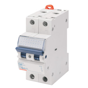 Gewiss Automaat - MT45 - 2P - curve C - 40A - 4,5kA - GW92152