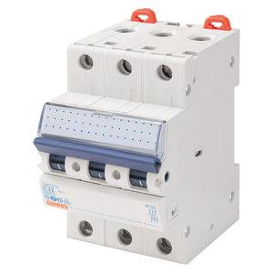 Gewiss Automaat - MT45 - 3P - curve C - 6A - 4,5kA - GW92165