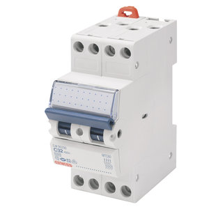 Gewiss Compacte automaat - MTC 45 - 4P - curve C - 6A - 4,5kA - GW90085