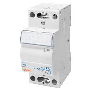 Gewiss Contactor 25A 2NO 24V - 2 modules