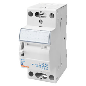 Gewiss Contactor met manuele bediening - 25A 4NO 230V - 2 modules