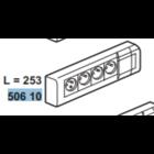 Legrand Contactdoos  4 x 2 P + A - 10/16 A - 230 V - wit -  050610