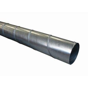 Galva spiraalbuis 125mm - 3 meter