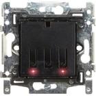 QBUS Schakelaar-Thermostaat 1 en 2-toets Niko RGB