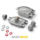 Raytech 90x80x47 BABYBOX IP68  Ø16-20