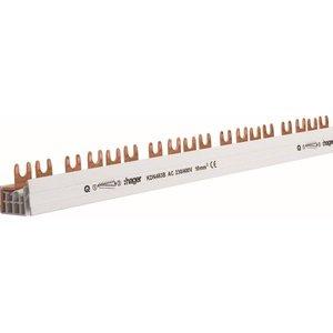 Hager kamgeleider  4P 63A met vorken 10mm² 56M - KDN463B