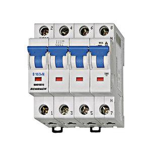 Schrack Beveiligingsautomaat BMS6 kar. B 32A 3P+N 6kA