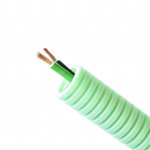 Preflex Flexibele buis  Ø16mm² met luidsprekerkabel 2x1,5 - 100m - CPR-klasse: Cca s1 d2 a1